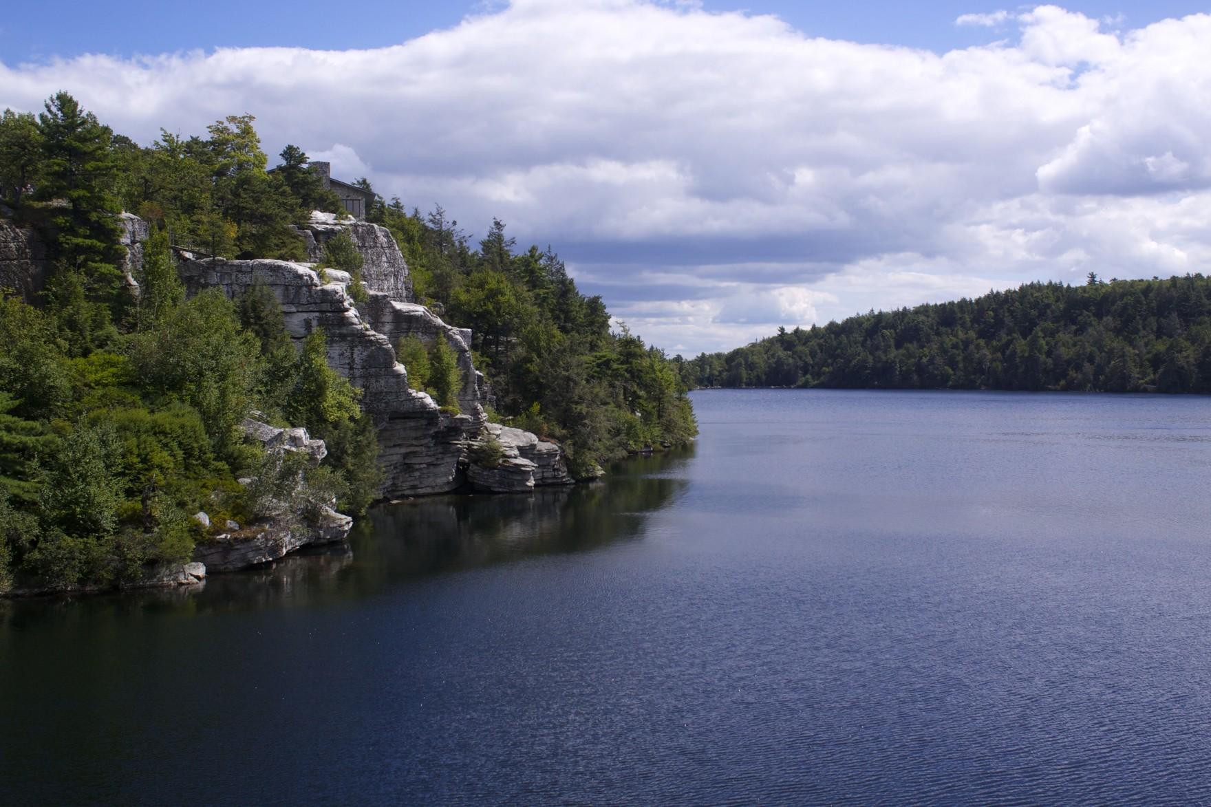 Hudson Valley Views Lake Minnewaska Bethany Pickard Vegetarian Blog