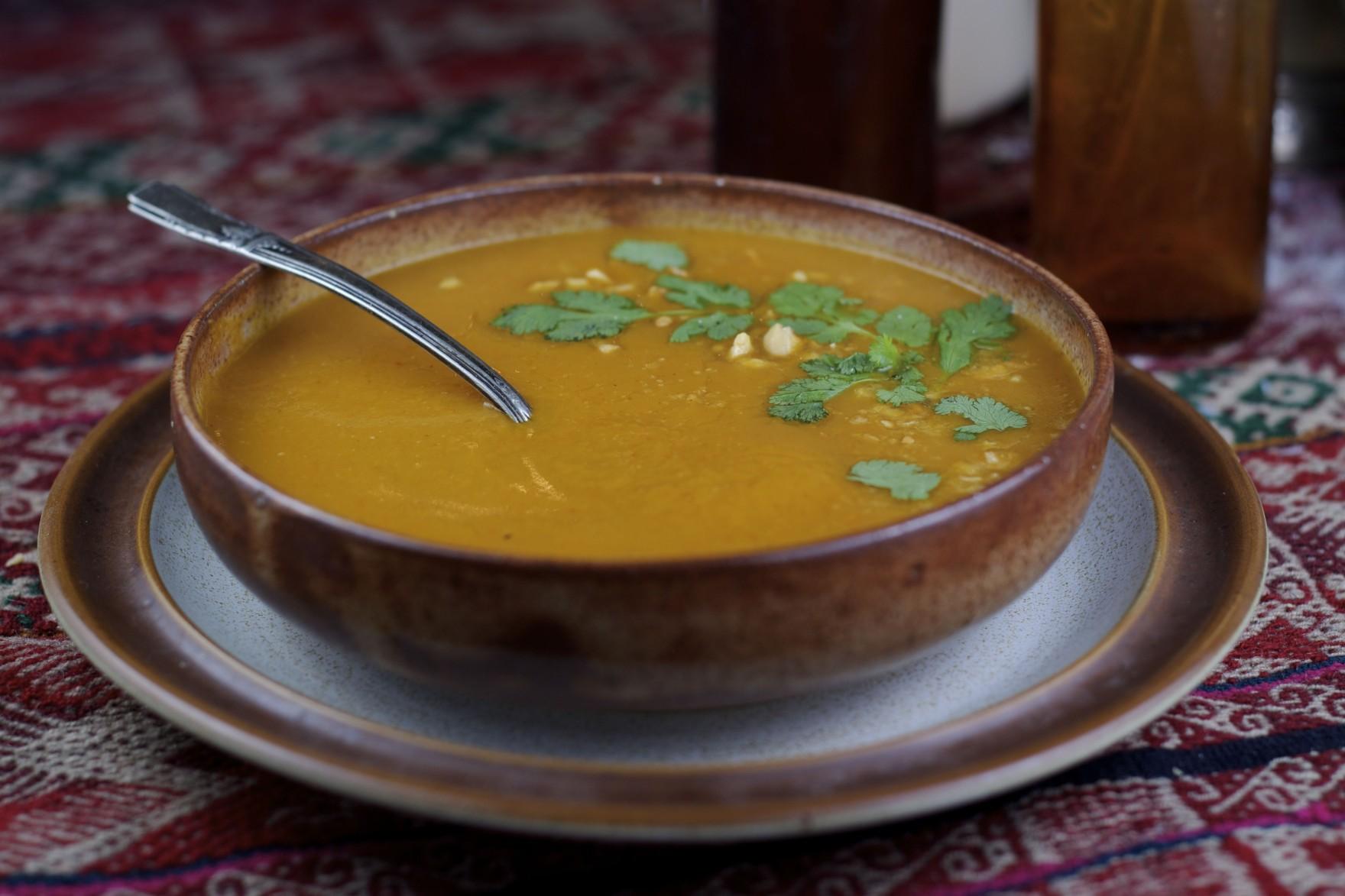 Vegan Curried Butternut Squash Soup The Bored Vegetarian